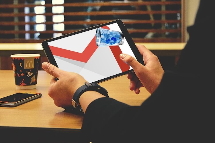 Recover Deleted Email iPad