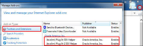 internet-explorer-java-disable