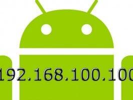 Android Manual IP Settings