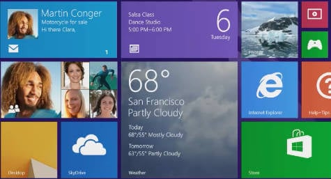 Win 8 Tile Apps