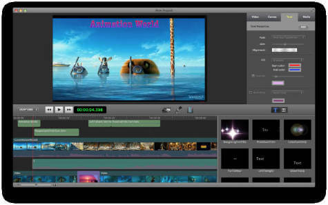 Photo editing service video app for mac