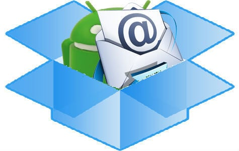 dropbox android email