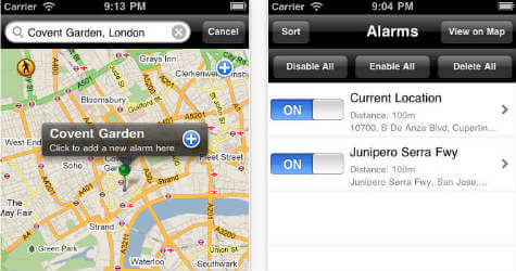 iOS iWake