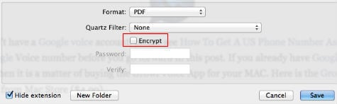 mac pdf encrypt