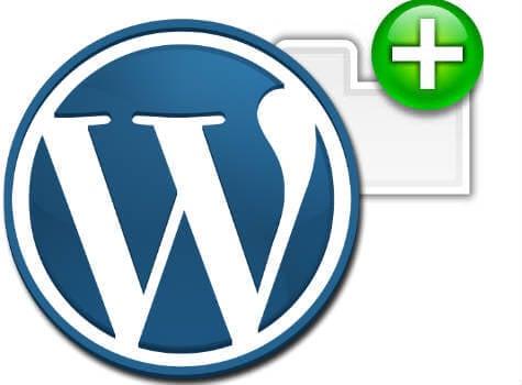 wordpress open new tab