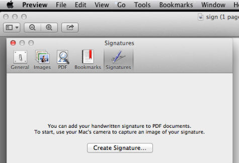 mac create signature
