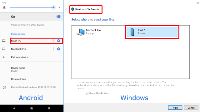 Android File Transfer Windows