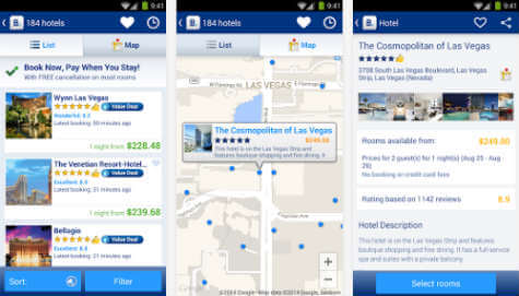 android hotel booking