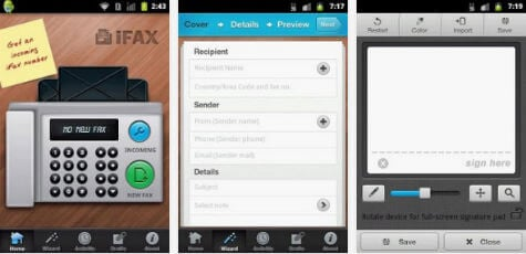 android ifax app