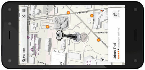 fire phone dynamic perspective