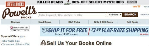 powers book sell