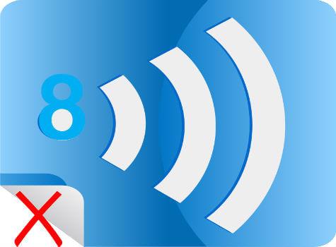 remove windows 8 wifi