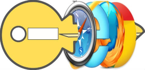 browser password remove
