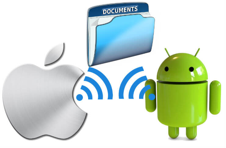 How to transfer music files from macbook to android phone