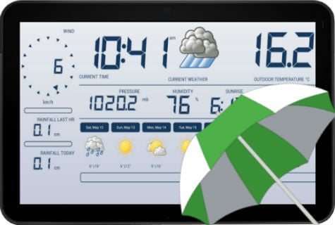 android weather stations