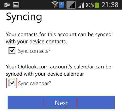outlook to google calendar