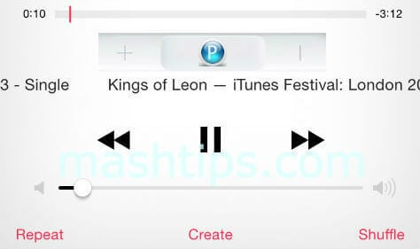 iphone headset PlayPause a Song or Video