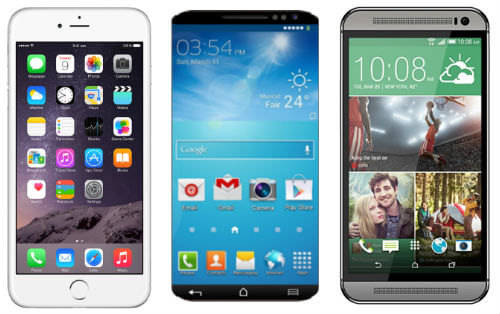 Apple iPhone 6 Vs Samsung Galaxy S6 Vs HTC One M9