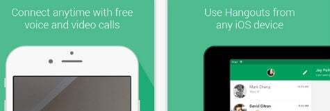 google hangout ios app