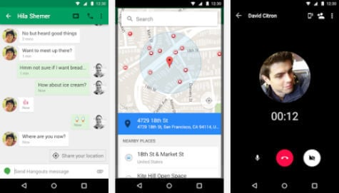 Hangouts Android app