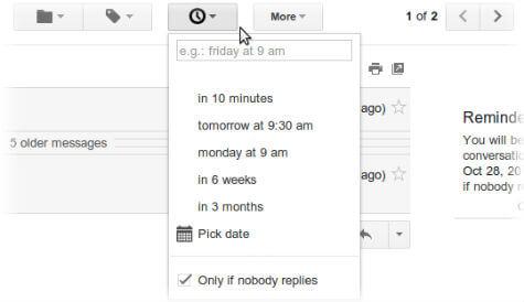 sndlater schedule