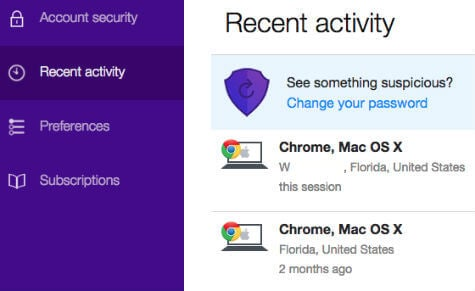 how to find lost yahoo email accounts