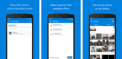 Dropbox Android App