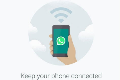 how to send web information by whatsapp