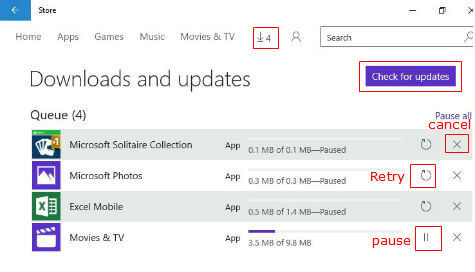 windows store auto update disable
