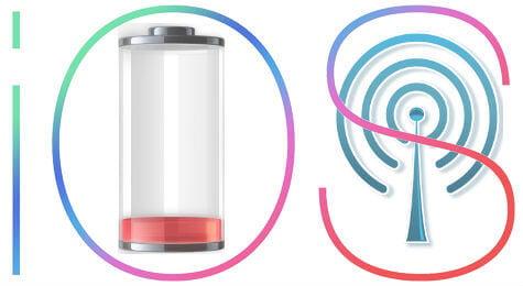 ios battery data drain