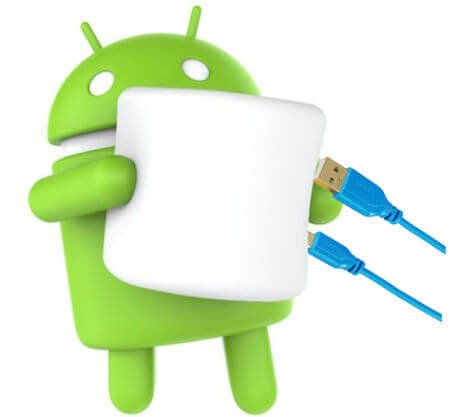 androidM usb options