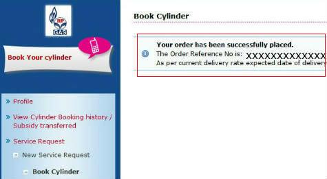 LPG online booking 4
