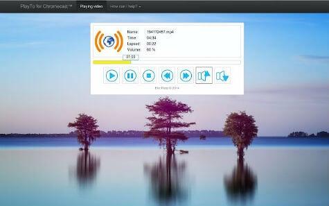 PlayTo for Chromecast