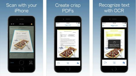 iOS PDFpen Scan