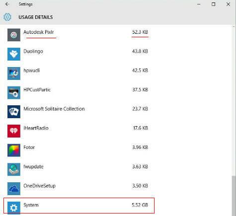 windows 10 data usage