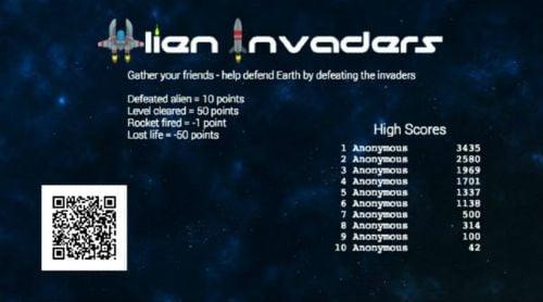 Alien Invaders Game