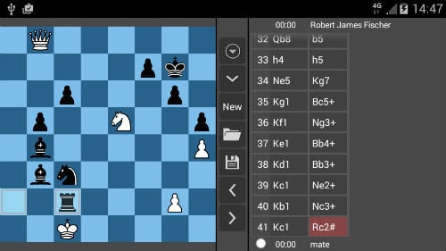 Chess chromecast game