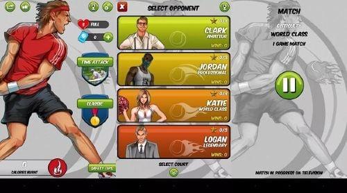 Motion-Tennis Game