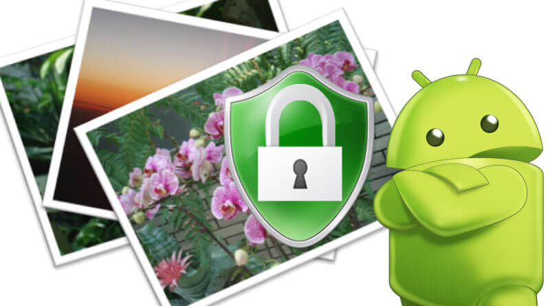 android photo video lock