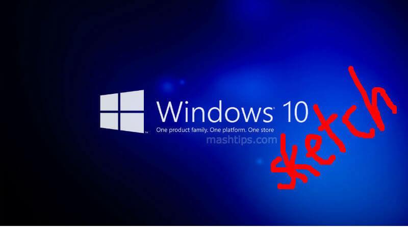 Windows Screen Sketch