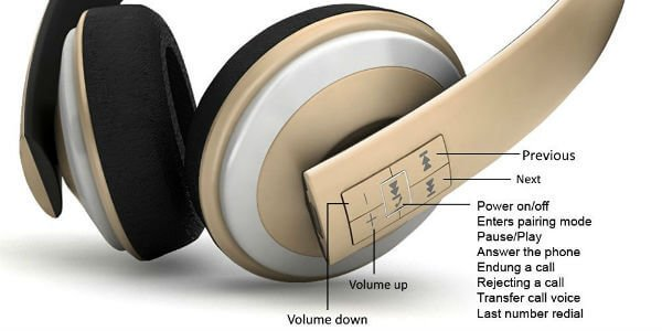 wireless-headphone-controls