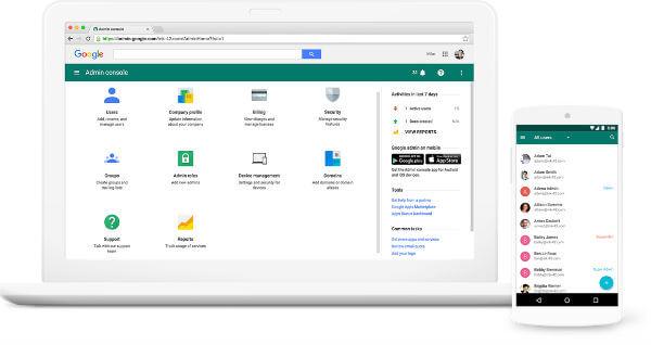 G Suite Admin Portal