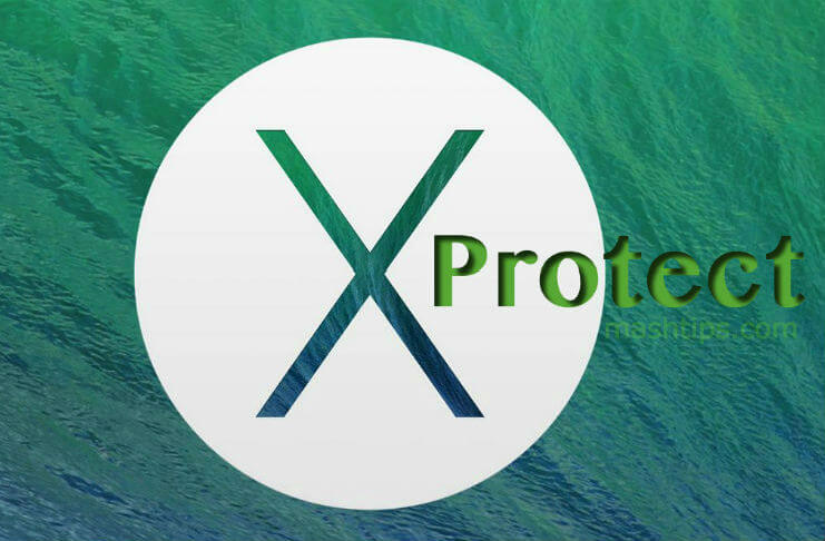 Mac XProtect Feature