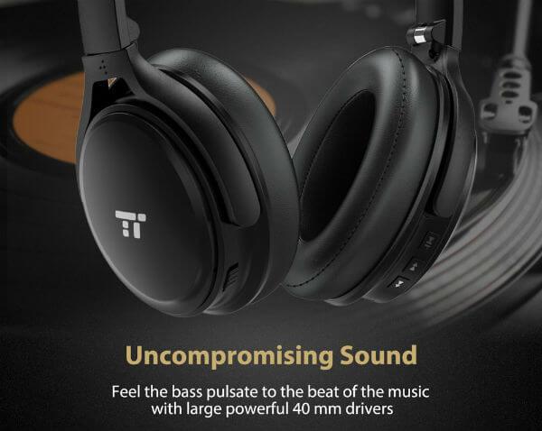 TaoTronics Active Noise Cancelling Headphones