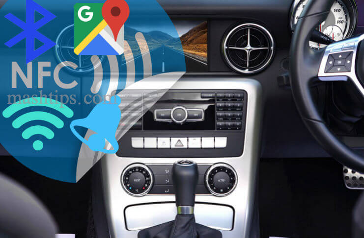 Automate Android for Car with NFC