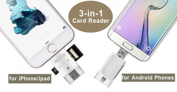 IMEEK SD TF Card Reader1