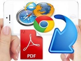 Save Webpage to PDF iOS