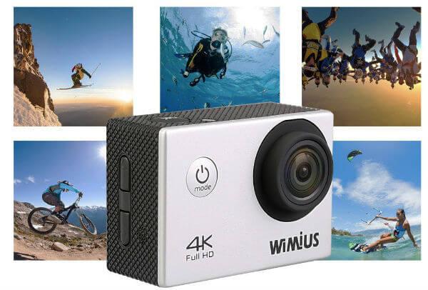 WIMIUS Q1 4K Action Camera