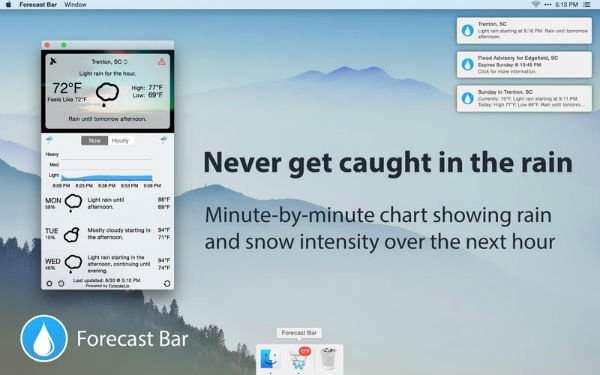 Forecast Bar