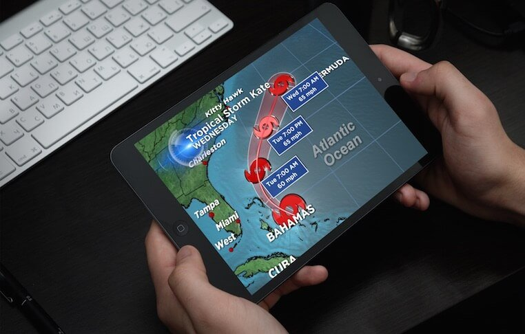 Severe Weather Tracker Apps for iPhone& Android